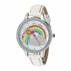 Betsey Johnson Rainbow Dial Watch